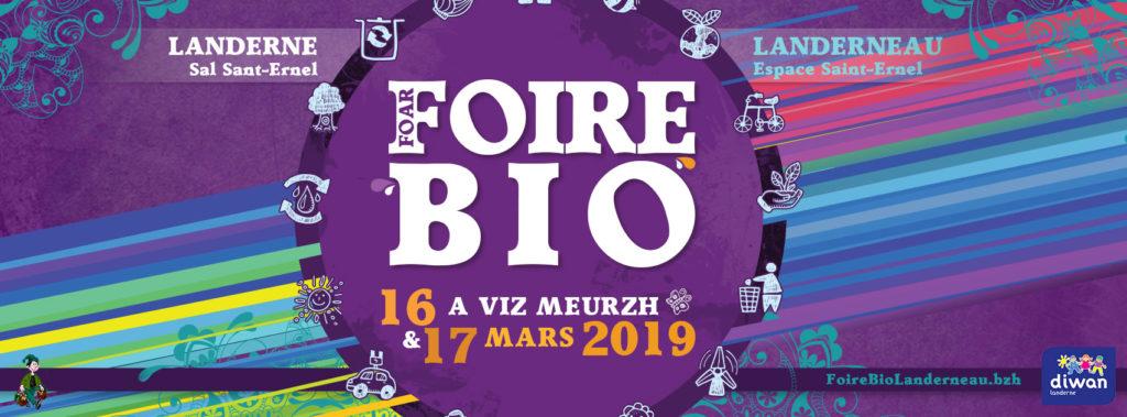 Affiche foire bio 2019